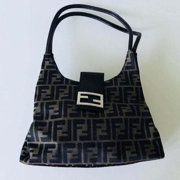 3906eaae98f Fendi Bags   Zucca Brown Tan Hobo   Poshmark